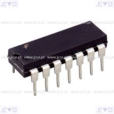 Ic: digital; buffer, converter; channels:6; cmos; dip14