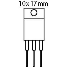 Regulateur de tension 5v - 1a to220