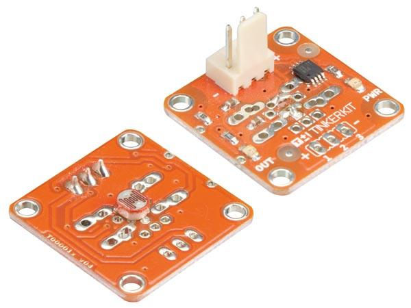 Tinkerkit module photoresistance  compatible arduino