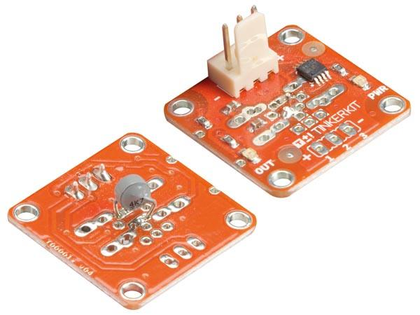 Tinkerkit module thermistance  compatible arduino