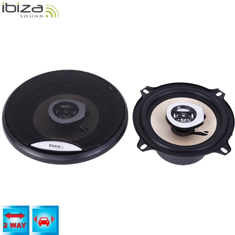 "2 way car speakers 5""/13cm 80w, from ibiza car"