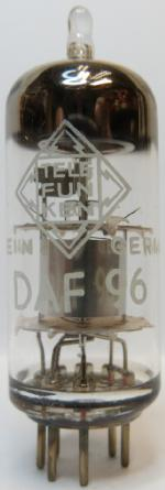 Tube electronique daf96/ 1ah5 diode / pentode 7 pins