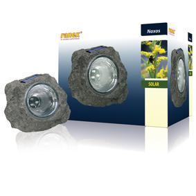 E44-éclairage énergie solaire pour jardin forme rocher dim: 175 x 1 ...