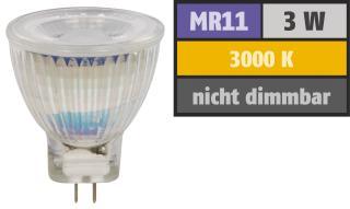 E44 Lampe Gu4 Blanc Leds 250 Chaud 3w 3000°k Lumens A Mr11 CoerWdBx