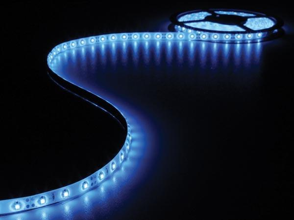 Flexible led - bleu - 300 leds - 5 m - 12 v