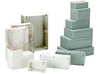 Rnd composants en plastique Boîtier 240 x 120 x 60 mm gris foncé ABS IP65