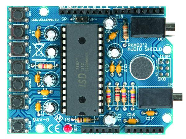 Audio shield pour arduino®