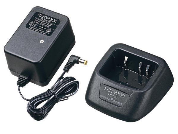 Chargeur kenwood® ksc-31 pour tk3201/2202/3202 (1