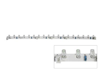 Module a led flexible - blanc - 18 led - 30cm - 12