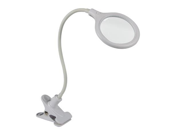 Lampe-loupe 30 leds avec pince - 5 dioptries - 6w