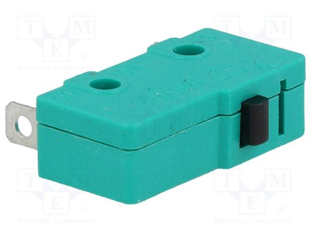 Micro switch nu 1 rt 5a 250v 20 x 10 x 6.4mm