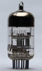 Tube electronique pc88 / 4dl4 / 4t3 triode uhf 9 pins ( noval )