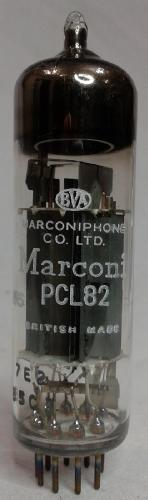 Tube electronique pcl82 / 16a8 / triode - pentode 9 pins ( noval )