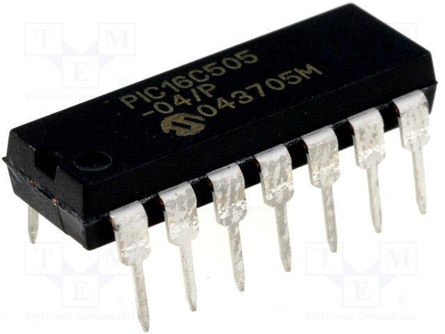 PIC18F45K50-I//P PIC Microcontrôleur EEPROM 256B SRAM 2048B 48 MHz DIP40