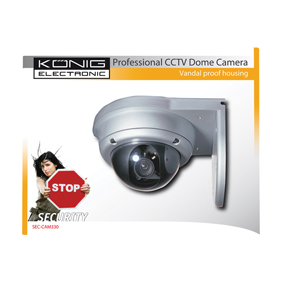Camera cctv couleur könig
