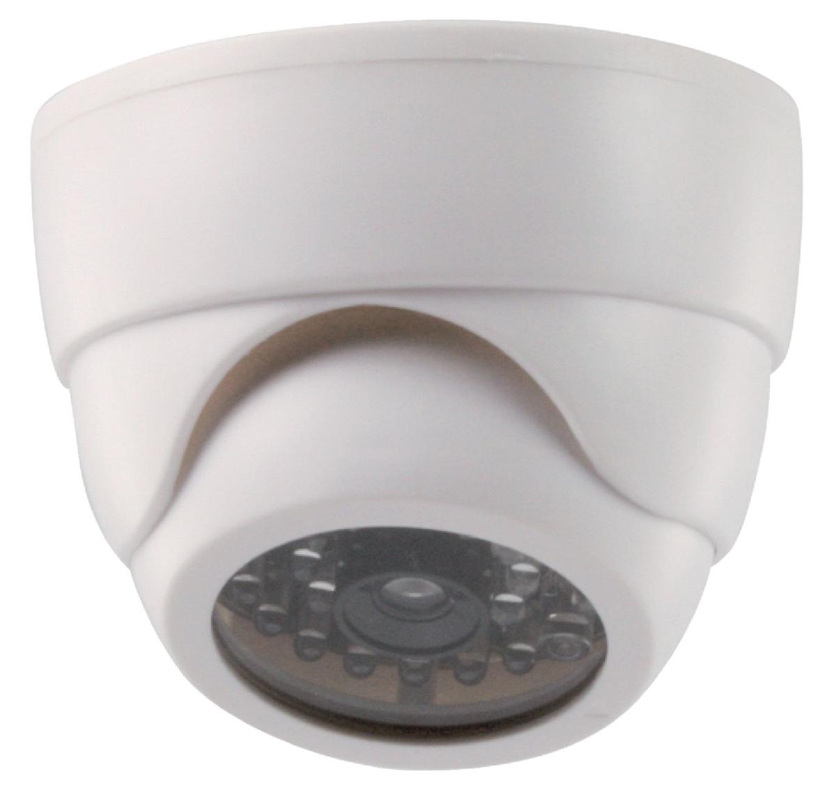 Camera dome cctv reglable factice d'interieur kíni