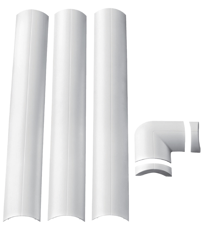 Goulotte Pour Plafond e44-assortiment de goulottes et angles cache-câbles pour