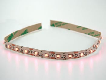 Module a led flex - orange/rouge hyperbrillant, 63